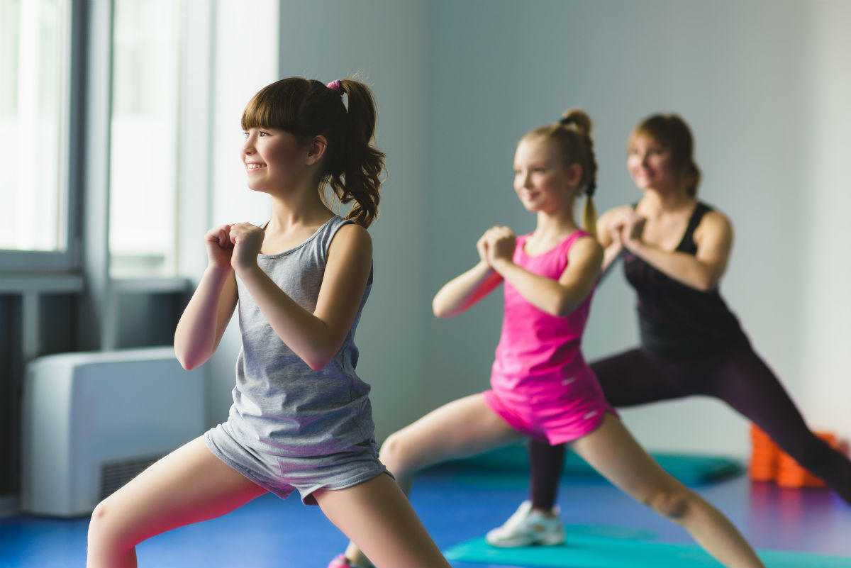 1Life Exercise Classes That Are Fun For The Whole Family