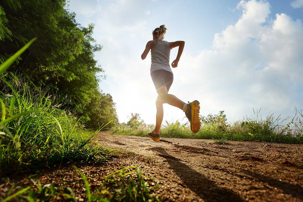 running for a healthy lifestyle